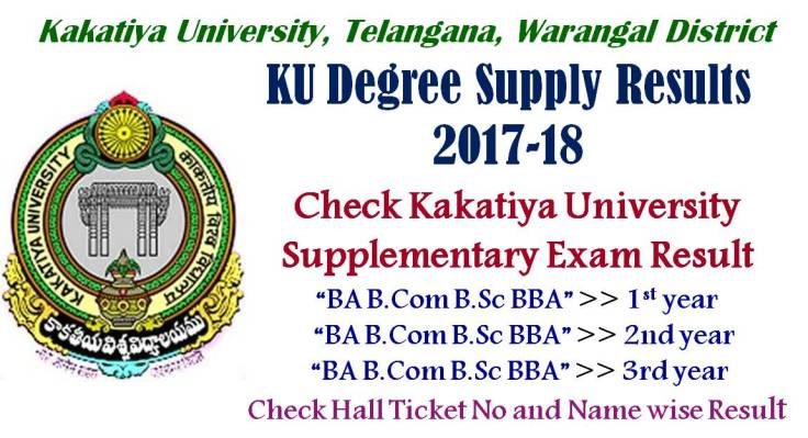 KU Degree Supply Results 2017 Revaluation