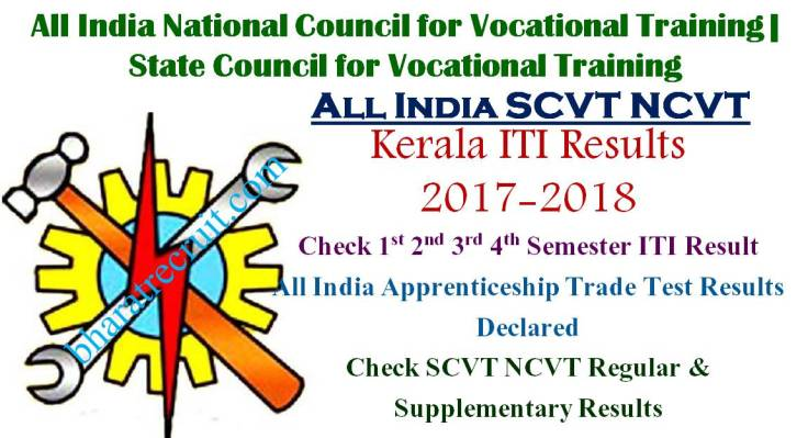 NCVT SCVT Kerala ITI Results All Sem