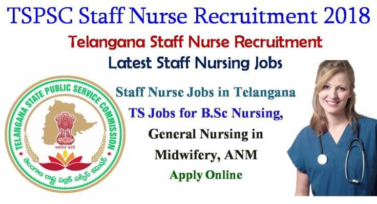 Telangana Staff Nurse Recruitment 2018