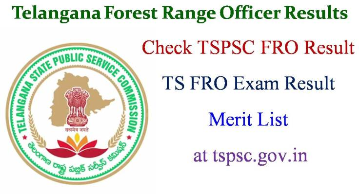 TSPSC FRO Exam Results
