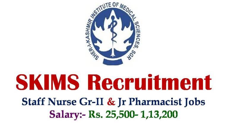 SKIMS Recruitment 2018