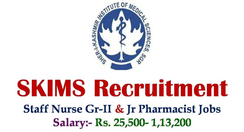 SKIMS Recruitment 2018