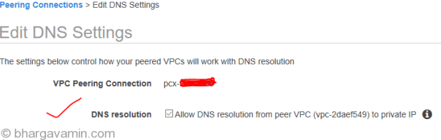 enable-DNS-resolution-vpc-peering