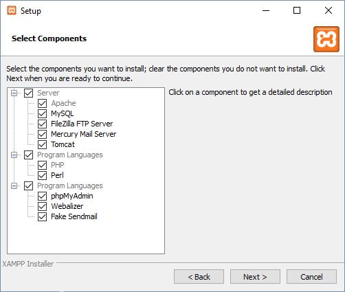 xammp-components
