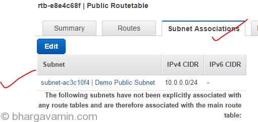 4.1-PublicRoutetable-SubnetAssociation-NAT