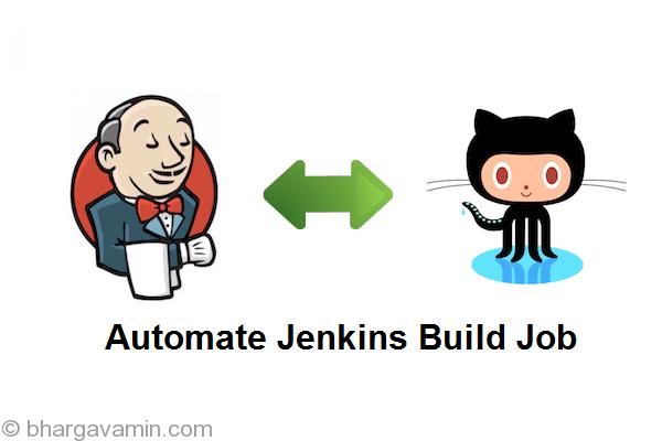 Run Jenkins Job on Git Push Event Automatically