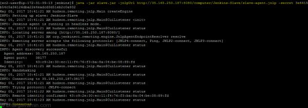 Setup Jenkins Slave on Amazon Linux EC2 instance (AWS) - Bhargav Amin