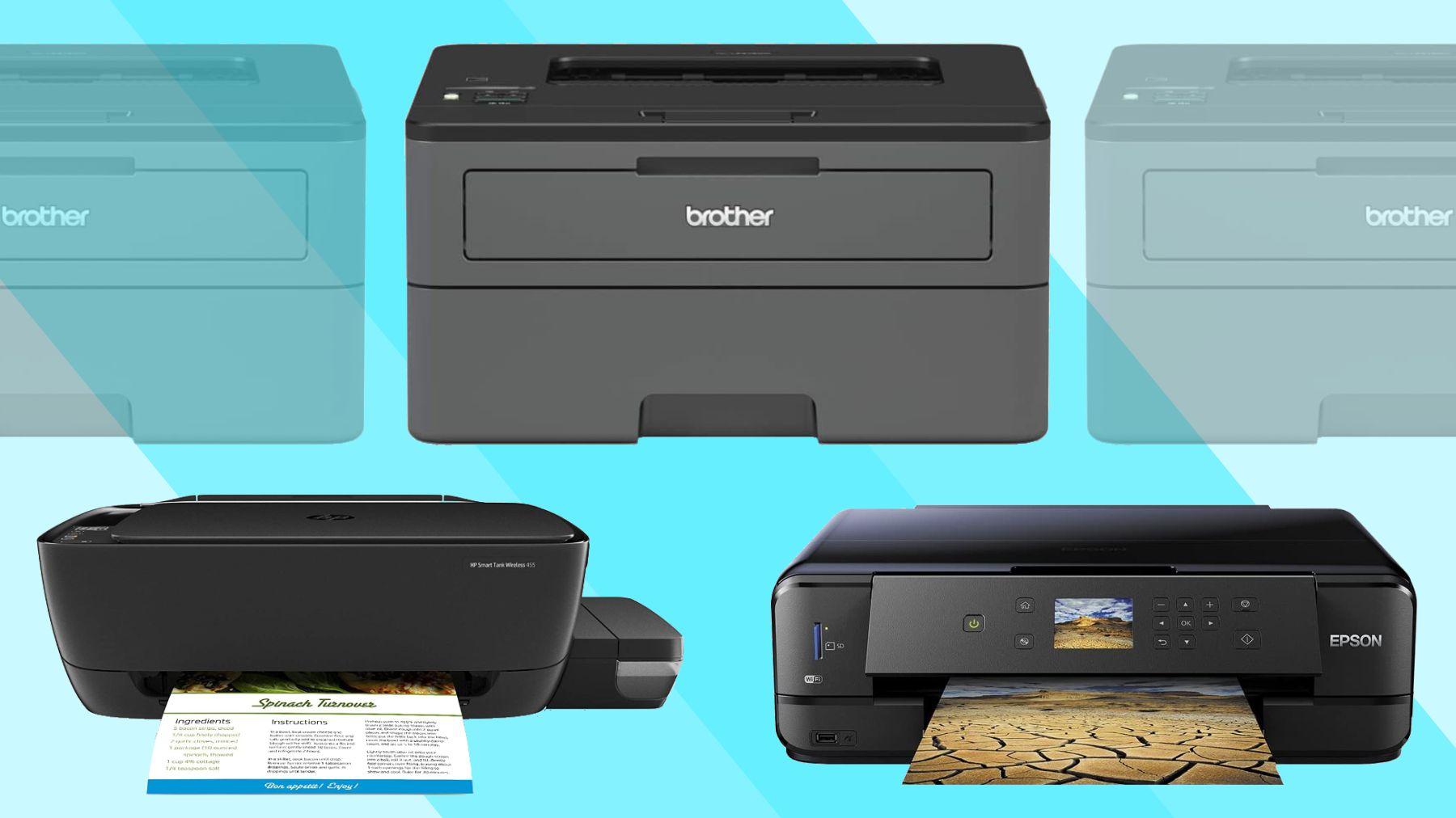 Different brand Printer demo image
