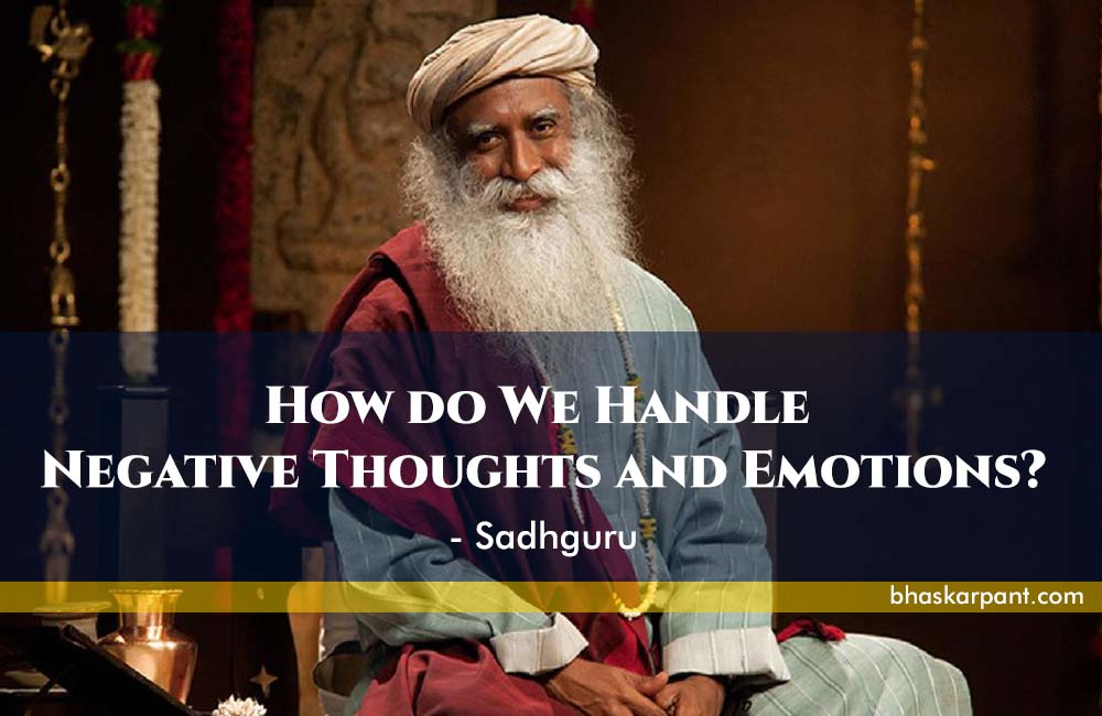 handle negative thoughts and emotions