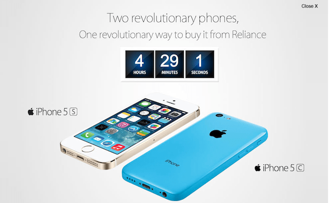 Reliance iPhone