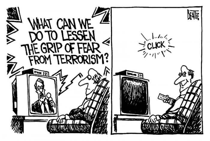 Cartoon by Bruce Beattie