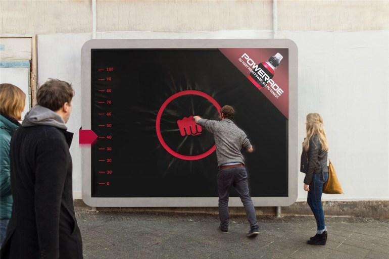 powerade_workout_billboard_puching_board