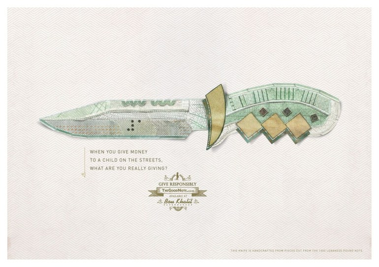 good_notes_dont_buy_arms_print_ad