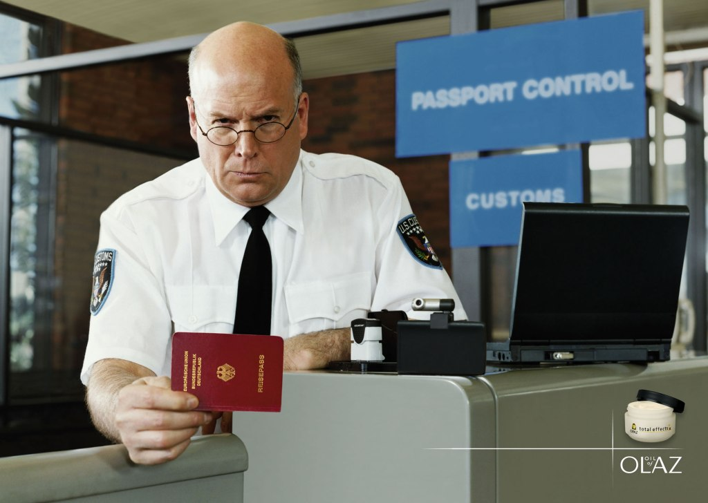 Olay passport control