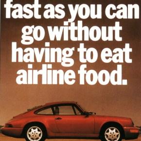 Porsche classic ad