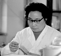 Biotic Interactions - Spiritualism vs Parasitism. This photo taken in the 1980s released by Xinhua News Agency on Monday Oct. 5, 2015 shows Tu Youyou, a pharmacologist with the China Academy of Chinese Medical Sciences in Beijing, working on Artemisinin, a drug therapy for Malaria. Three scientists from Ireland, Japan and China won the 2015 Nobel Prize in Medicine on Monday, Oct. 5, 2015 for discovering drugs against Malaria and other Parasitic diseases that affect hundreds of millions of people every year. Tu was awarded the prize for discovering Artemisinin, a drug that has helped significantly reduce the mortality rates of Malaria patients. (Yang Wumin/Xinhua via AP)