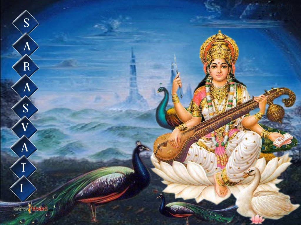 3d God Wallpaper For Pc Sarasvati Vandana On September 29 2017 Celebration Of