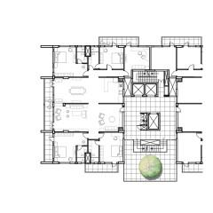 detail of typical floor plan