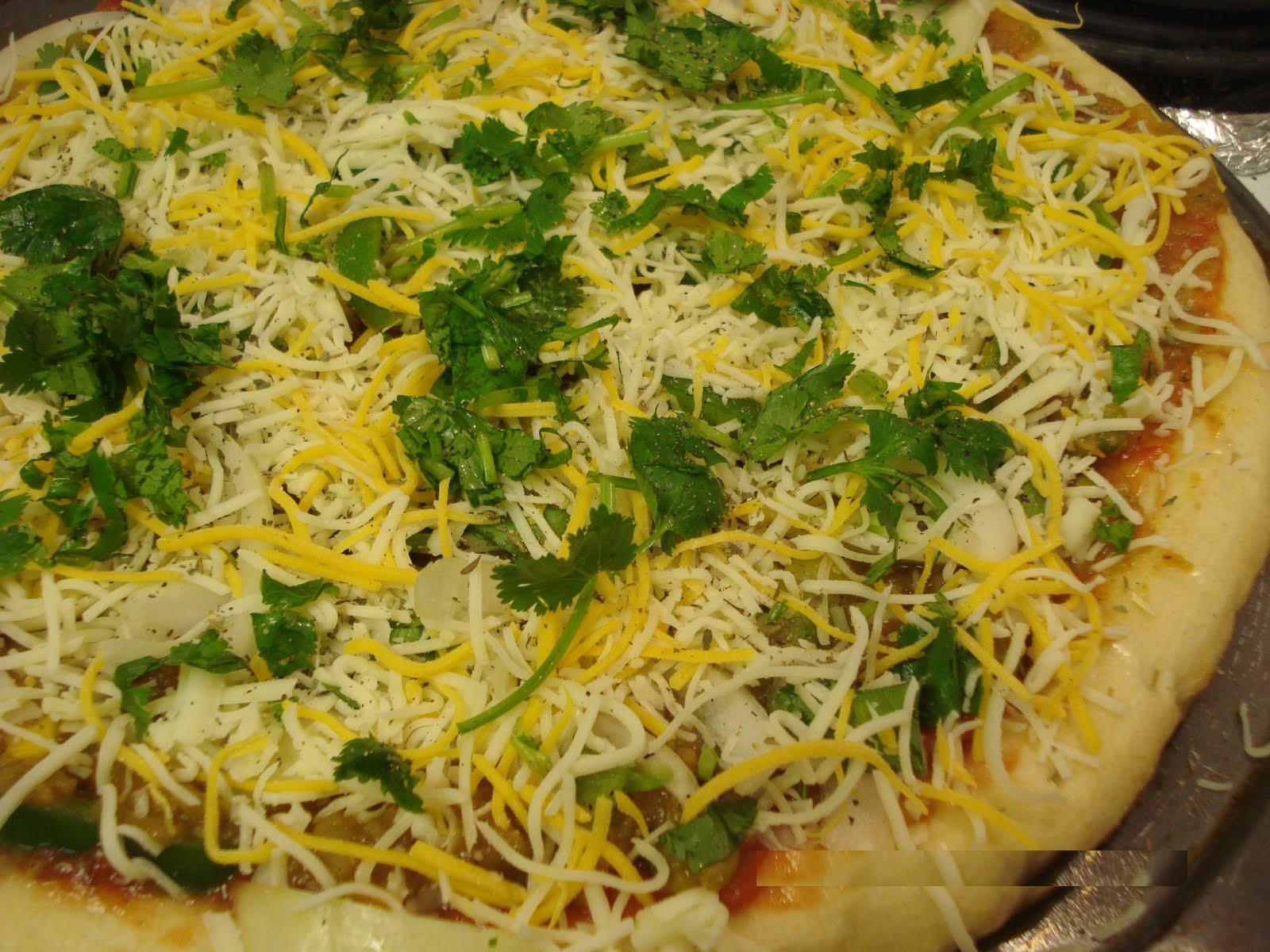 Pavbhaji Pizza