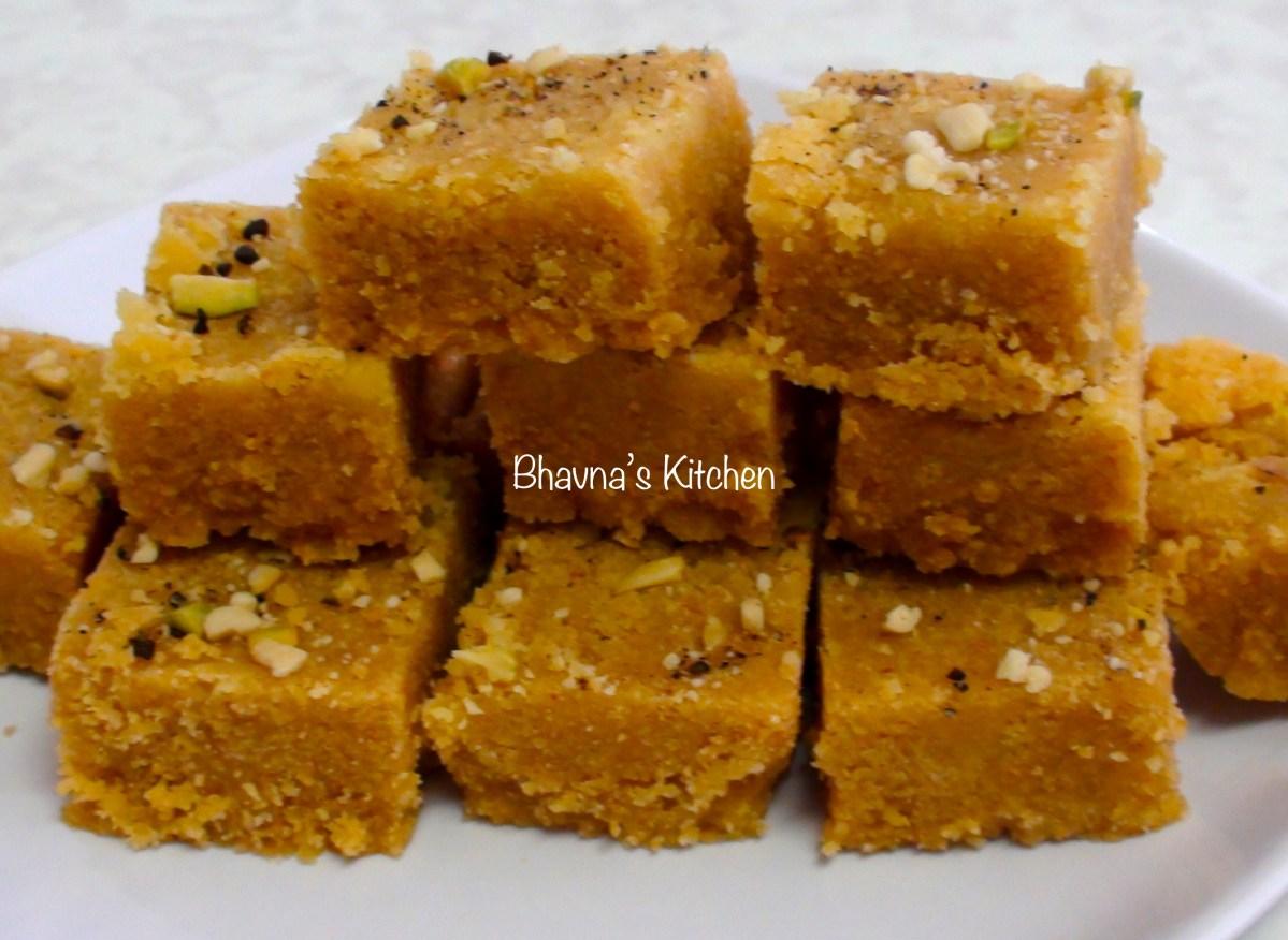 Mohanthal - Besan Fudge