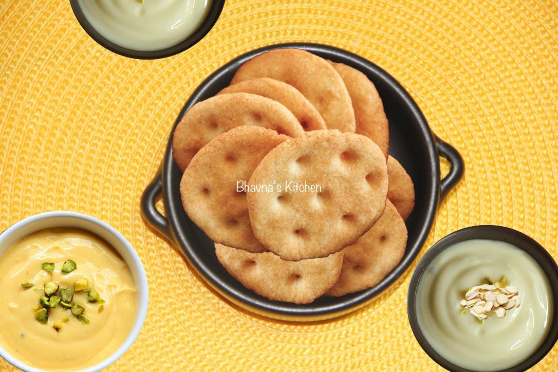 Rava Maida Puri for Shrikhand