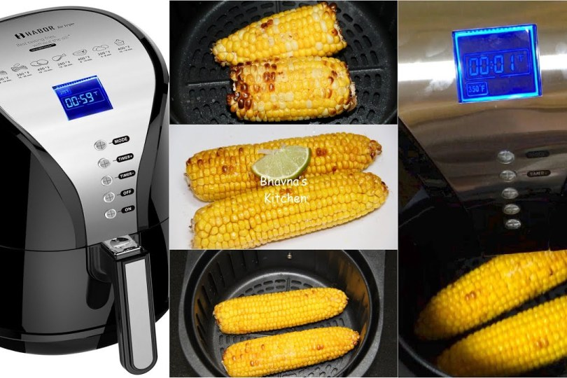 Air Fryer Corn on the Cobs Video Recipe