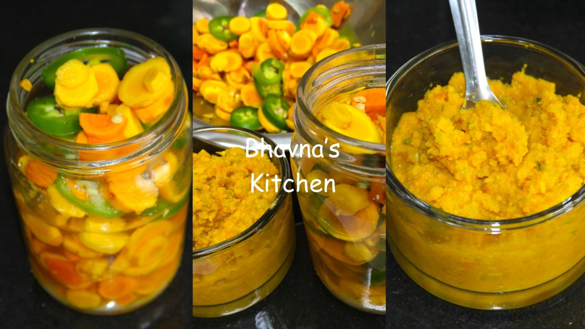 Kacchi Pili & Amba Haldi Pickle Chutney - Fresh Turmeric & Mango Ginger