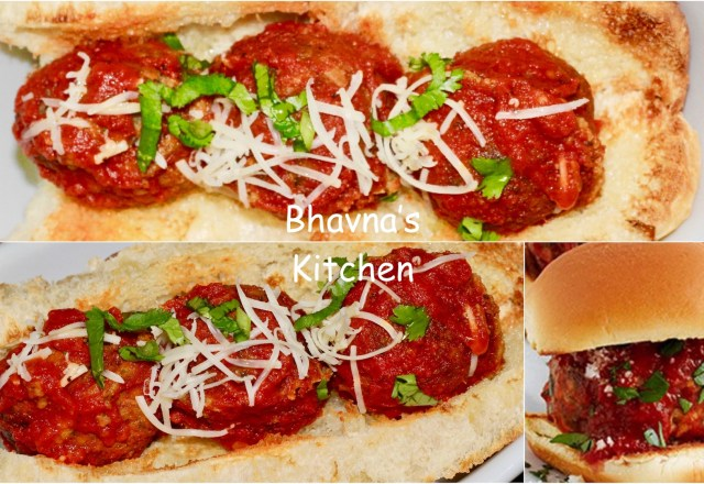 Bhavnas kitchen your one tasty destination for vegetarian recipes vegan meatballs sliders veg sliders forumfinder Image collections