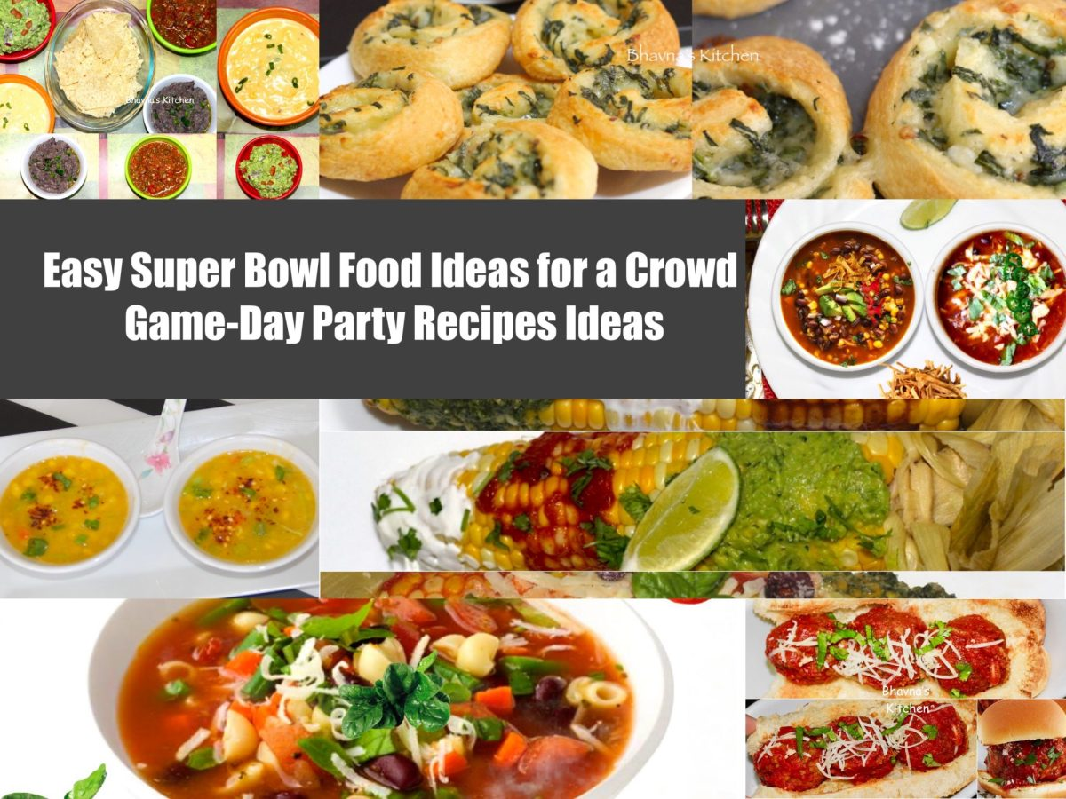 Easy Super Bowl Food Ideas for a Crowd - Game-Day Party Recipes Ideas