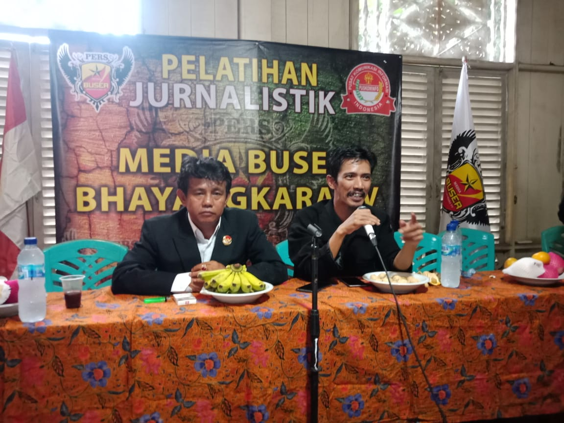 Media Group Puskominfo Indonesia Gelar Pembekalan Jurnalis di TMII