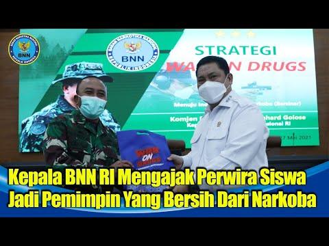 Kepala BNN RI Ajak Pasis Sesko TNI Jadi Pemimpin Bersih Narkoba