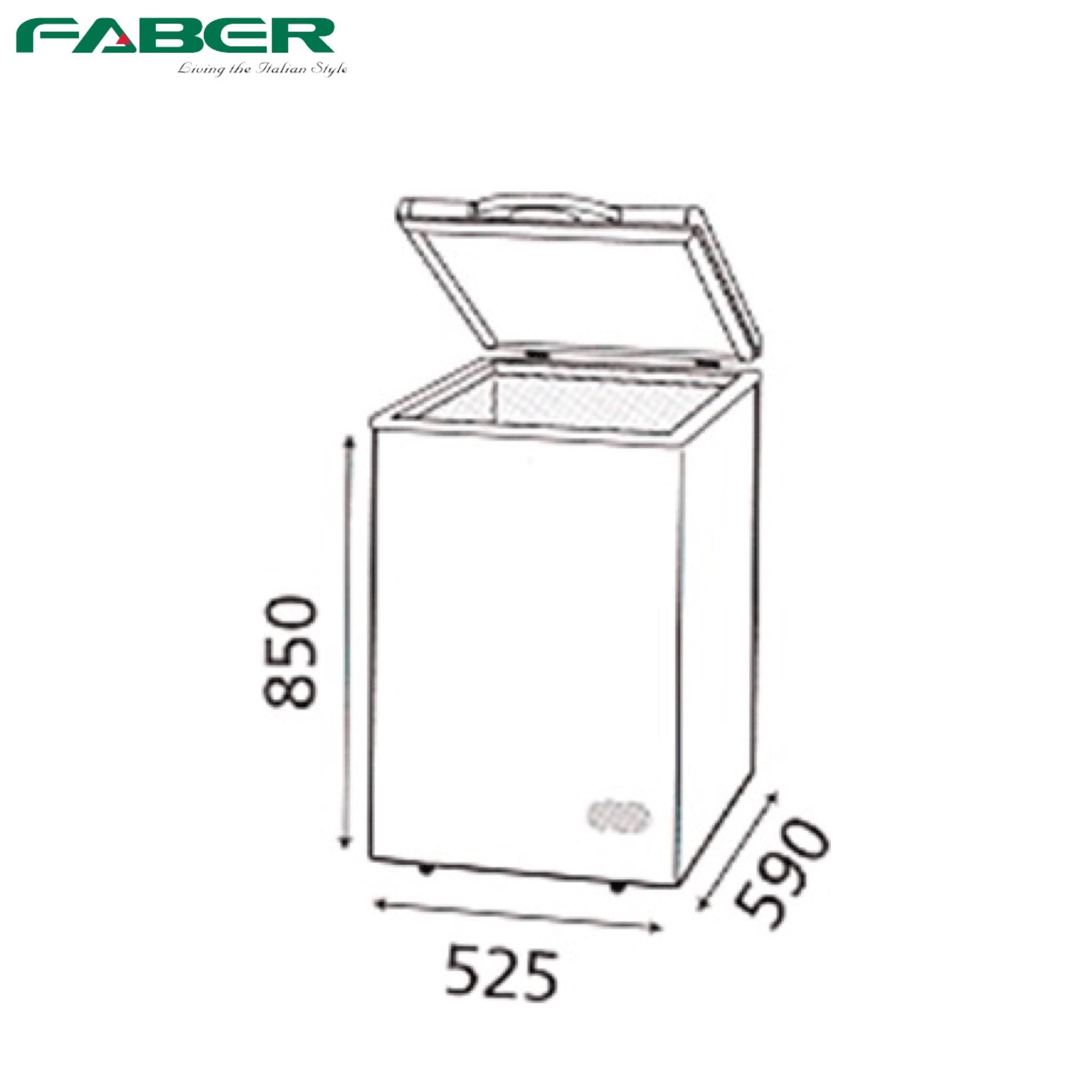 Faber FZF128N Chest Freezer 100L