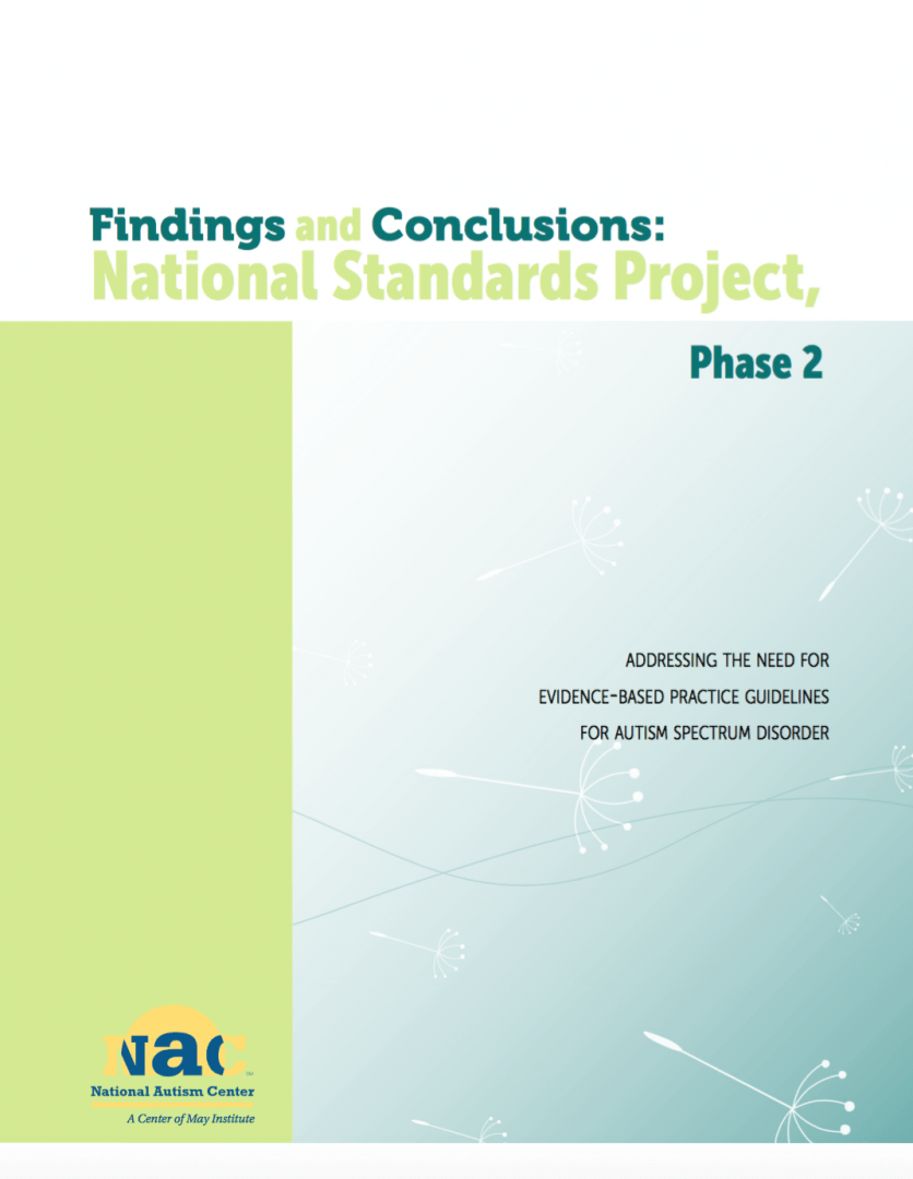 National Standards Project, Phase 2