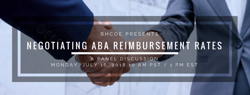 Negotiating ABA Reimbursement Rates