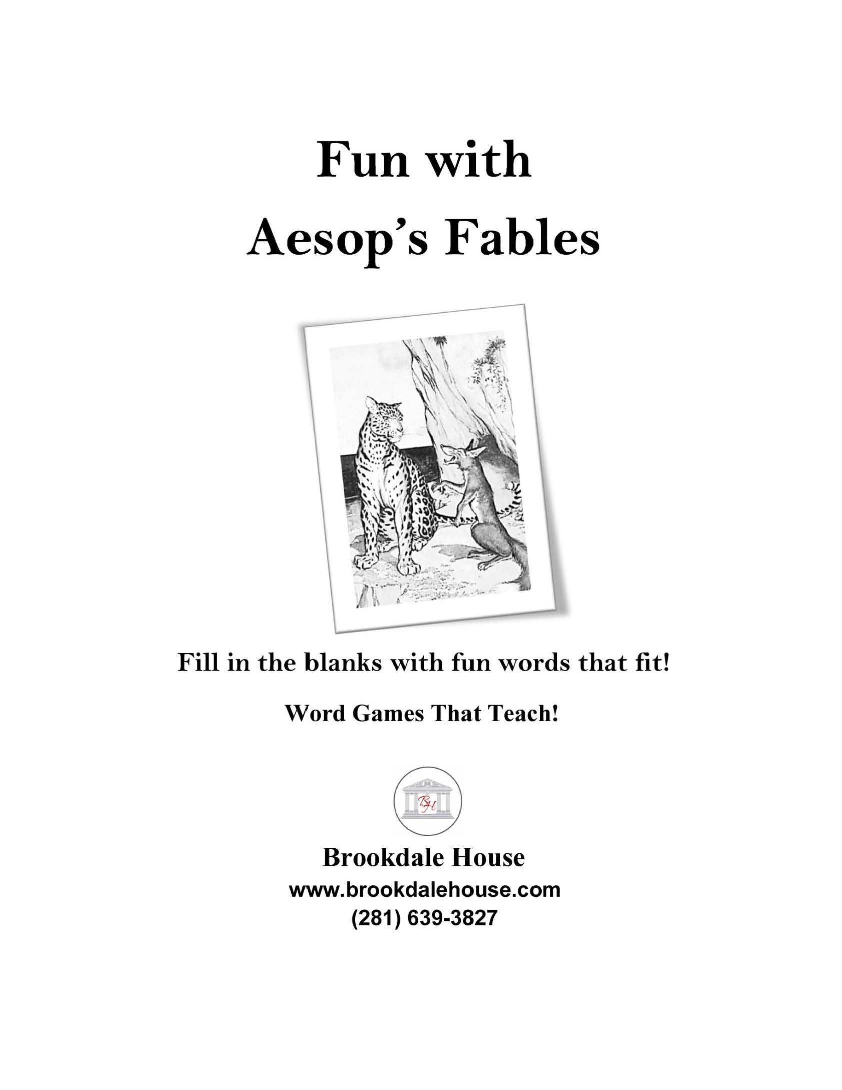 Fun With Aesop S Fables