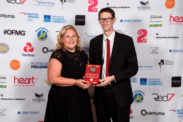 BHESCo Brighton and Hove Business Awards 2018 Winner