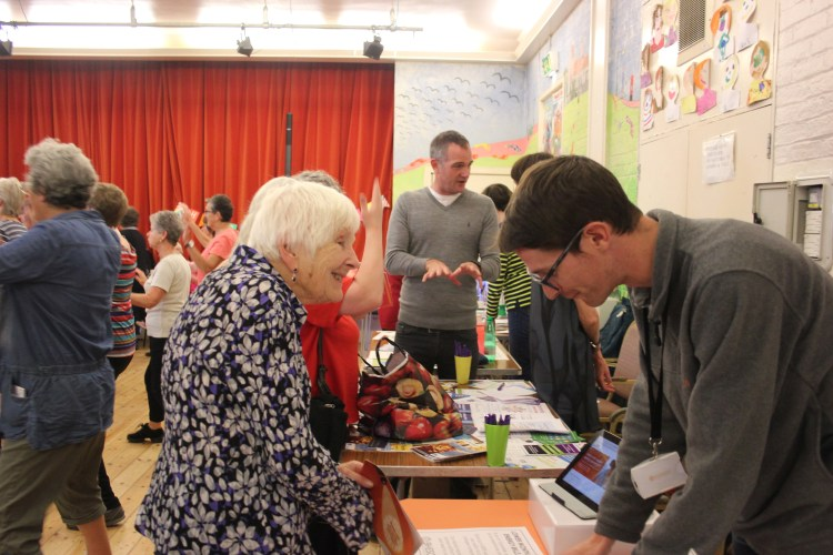 At The Older Peoples Festival