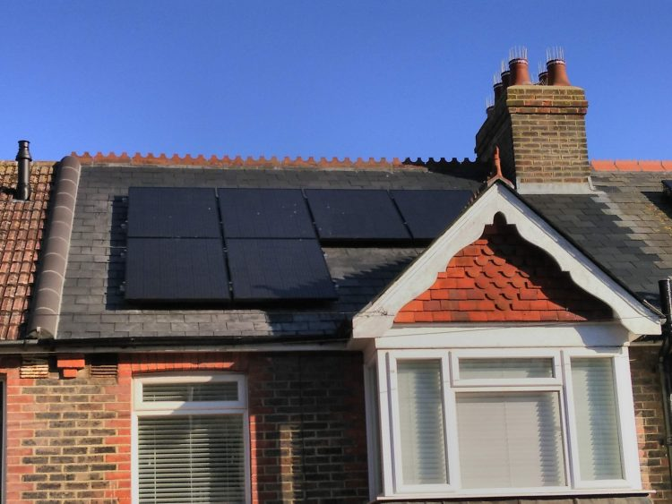 solar panels - brighton hove energy services - domestic solar and battery storage