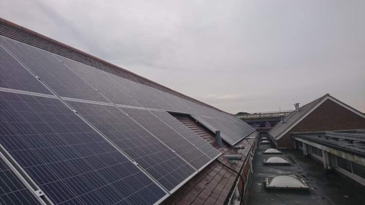 solar panels schools