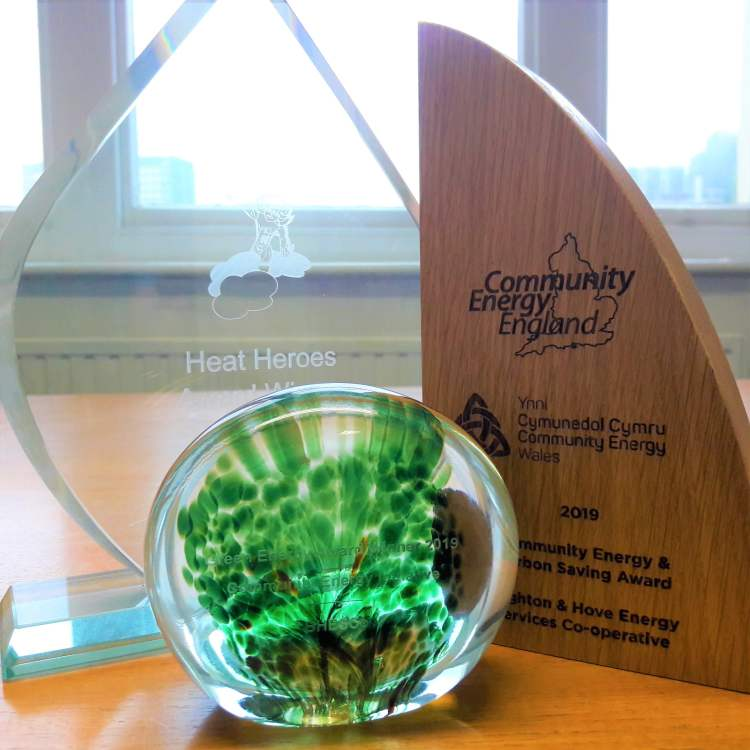 Brighton Hove Energy Services Coop - Awards Collection 2019