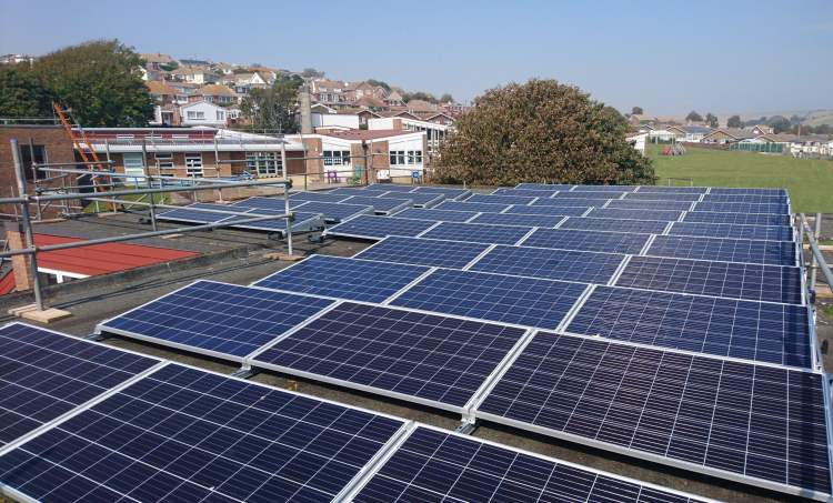 ethical investing - saltdean primary school solar panels