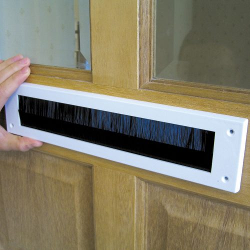 draught proof letterbox brush for front door - brighton hove energy services cooperative - bhesco