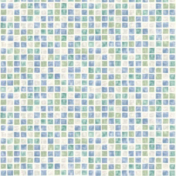 harbor blue sea glass tiles