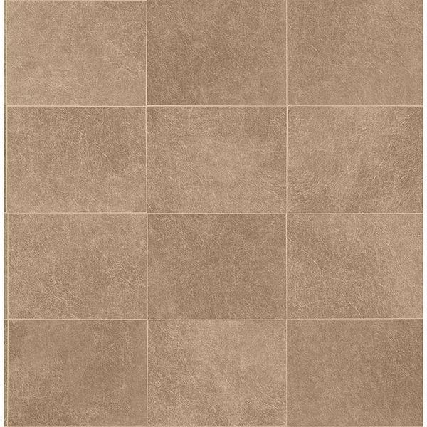 cecelia bronze faux tile wallpaper