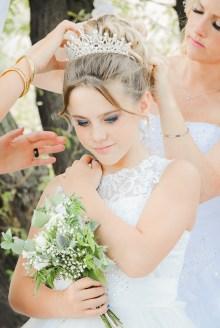 Préparatif de la fille des marier, Mariage à Sauzet