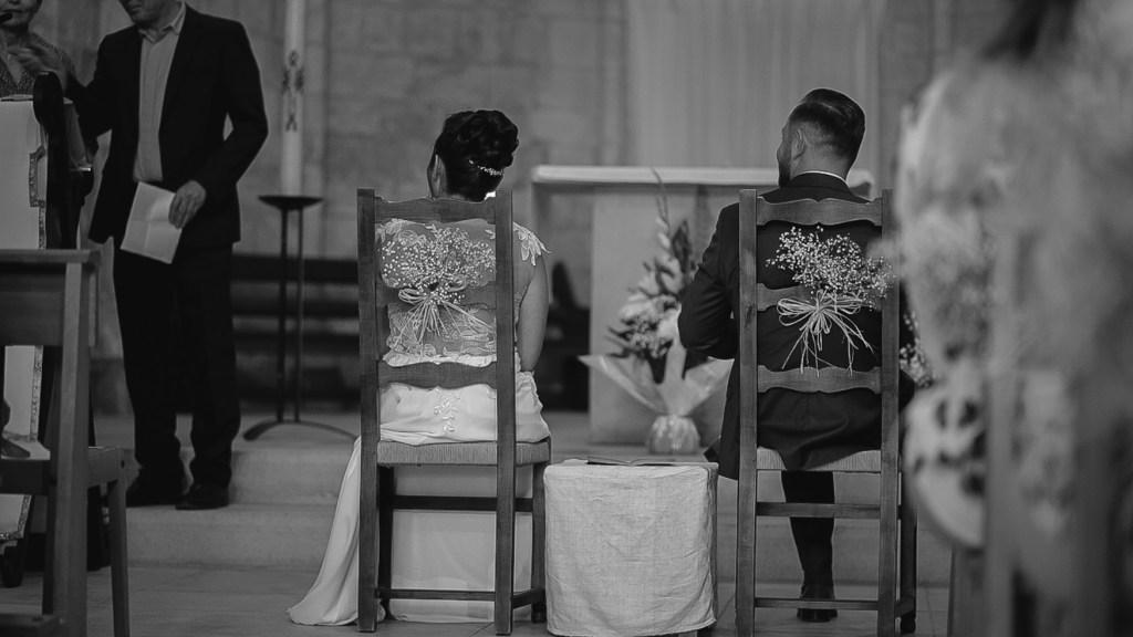Cérémonie religieuse d'un jeune couple du Teil, Prise de vue par bhf Photographe Mariage