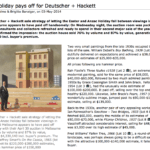 Deutscher + Hackett fine art auction report
