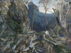 Lot 21 - William Robinson, Morning Tallanbanna, est. $180,000-240,000. Lord of the Landscape