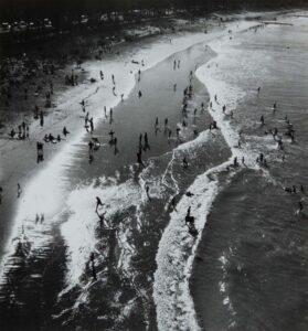 Lot 16 - Manly Beach, 1938, est. $500-800. That's My Beach