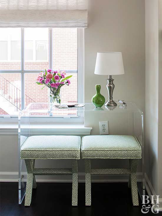 Choosing Furniture For Small Spaces Better Homes Gardens